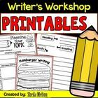 Writing NO PREP Printables