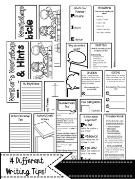 Writer's Workshop Tips & Hints Lapbook