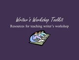 Writer's Workshop Tookit