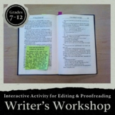 Writer's Workshop Using Sticky Notes!