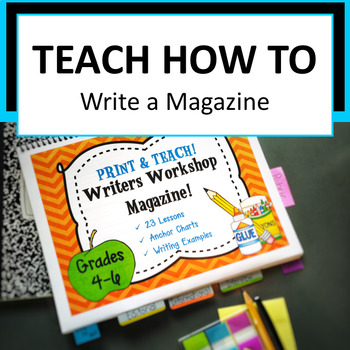 Writers Workshop Create a Magazine