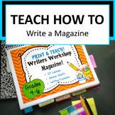 Writers Workshop Create a Magazine