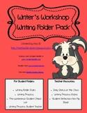 Writer's Workshop Writing Folder Pack
