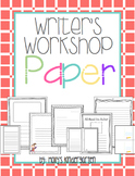 Writer's Workshop Writing Paper