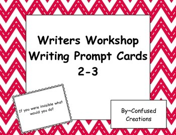 Second-Third Grade Prompt Writing