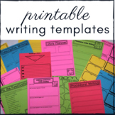 Writer's Workshop Writing Templates: use with 6 traits of writing! Grades 1-3
