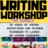 Writing Workshop Through the Year Bundle Complete unit 1-4