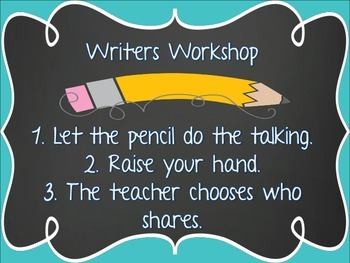 Writers Workshop and Math Time