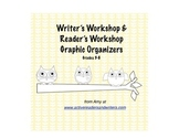Writer's Workshop and Reader's Workshop Graphic Organizer Pack