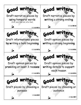 Writer's Workshop cards