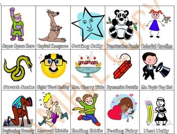 Writers Workshop characters