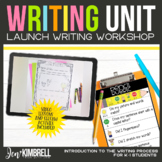 Launching Writers Workshop Kindergarten and First Grade Di