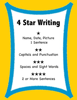 Writer's Workshop for Kindergarten and First Grade