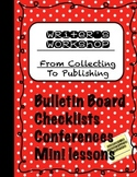 Back to School Writer's Workshop from Collection to Publishing CCSS Support B&W
