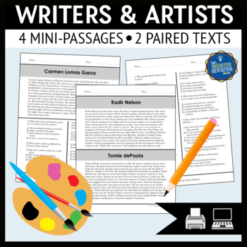 Writers and Artists Reading Passages