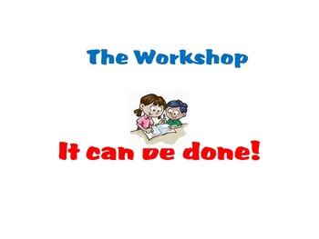 Writer's and Reader's Workshop Elementary presentation