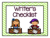 Writer's checklist