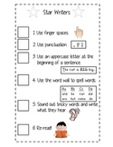 Writer's checklist (master and bookmarks)