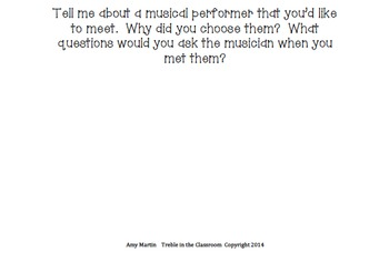 Writing in the Music Room Bundled Set