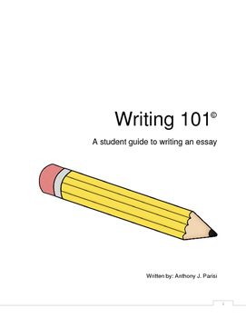Writing 101: A Student Guide