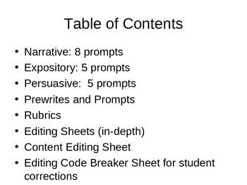 Writing 101 A Writing Curriculum