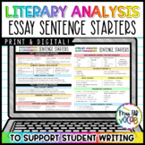 Essays Writing: Sentence Starters