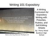 Writing 101 Expository Writing Curriculum