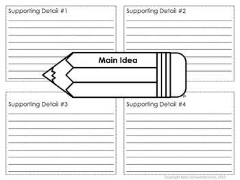 Writing 101: Graphic Organizer Variety Pack