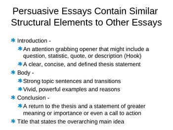 Writing 101 Persuasive Writing Curriculum