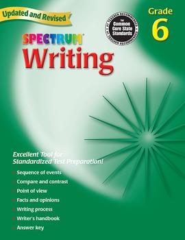 Spectrum Writing Grade 6 20% OFF! 0769652867