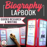 Biography Reports & Informational Writing - A Biography Project & Lapbook