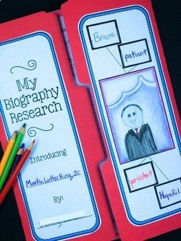 Biography Report & Informational Writing - Black History Month Biography Project