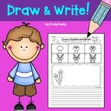 Writing Activities:  Draw & Write (Kindergarten & 1st Grad