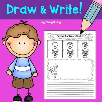 Writing Activities:  Draw & Write (Kindergarten and 1st Grade)
