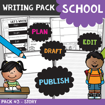 Story Writing Pack {School}