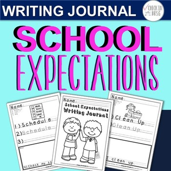 School Expectations Writing