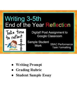 performance reflection essay