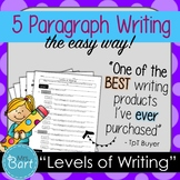 5 Paragraph Essay Writing- EASIEST way to teach kids to organize their writing