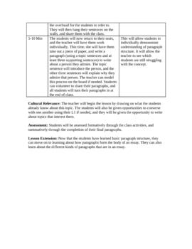 Writing 5 Paragraph Essays Unit