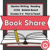Opinion Writing: A Book Review CCSS Grades 3-6