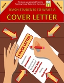 TEACH STUDENTS HOW TO WRITE A COVER LETTER