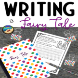 Writing A Fairy Tale: Plus Digital Google Slides