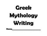 Writing A Greek Myth Template