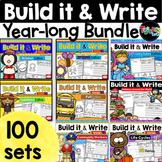 Distance Learning Writing Activities Bundle: Build it & Write