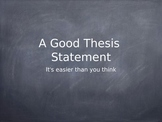 Writing A History Essay - The Thesis & Introduction