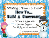 Writing A How To Book  *How To Build A Snowman*