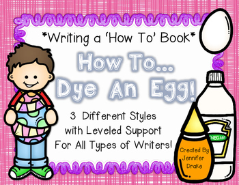 Writing A How To Book *How To Dye An Egg*