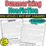 Writing A Nonfiction Summary