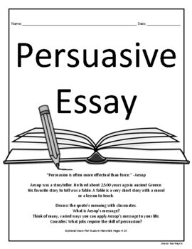 writing a persuasive essay any topic by smarter teaching k tpt writing a persuasive essay any topic