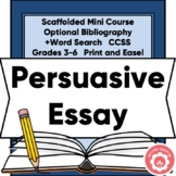 Writing A Persuasive Essay: Any Topic